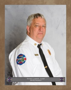 Randy Larson, Fire Chief
