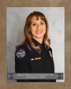 Megan Macht, Lieutenant/PIO